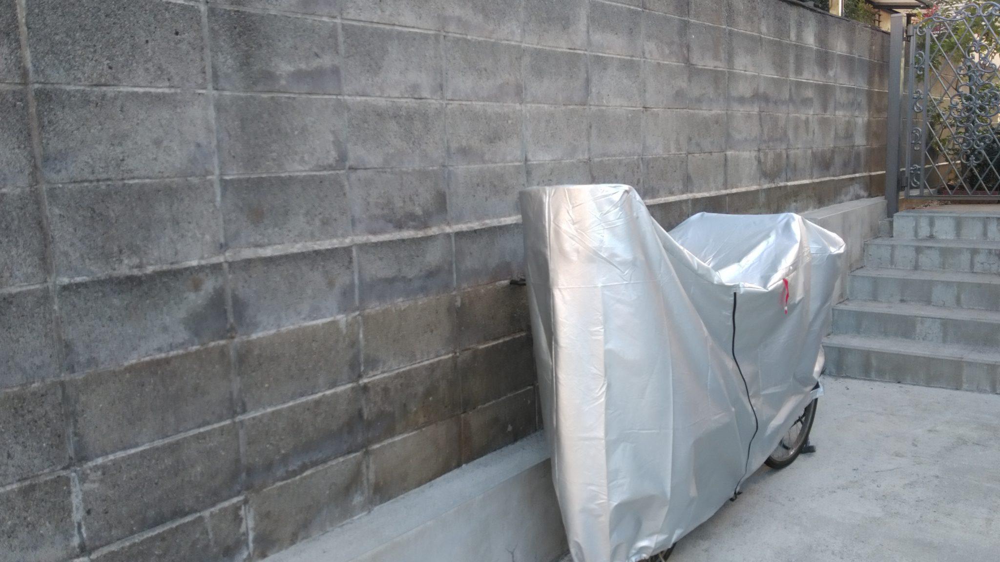 ジョリパット ブロック塀